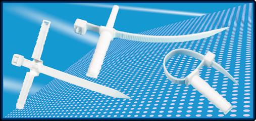 Uchwyty szybkiego montażu do kabli i przewodów - Arpara - producent osprzętu elektroinstalacyjnego